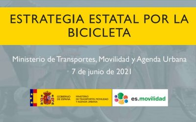 España ya tiene su Estrategia Estatal para la Bicicleta